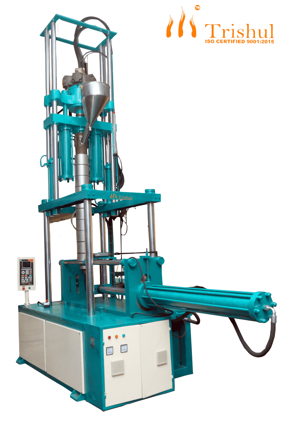 Semi Auto Vertical Screw Type Injection Moulding Machine