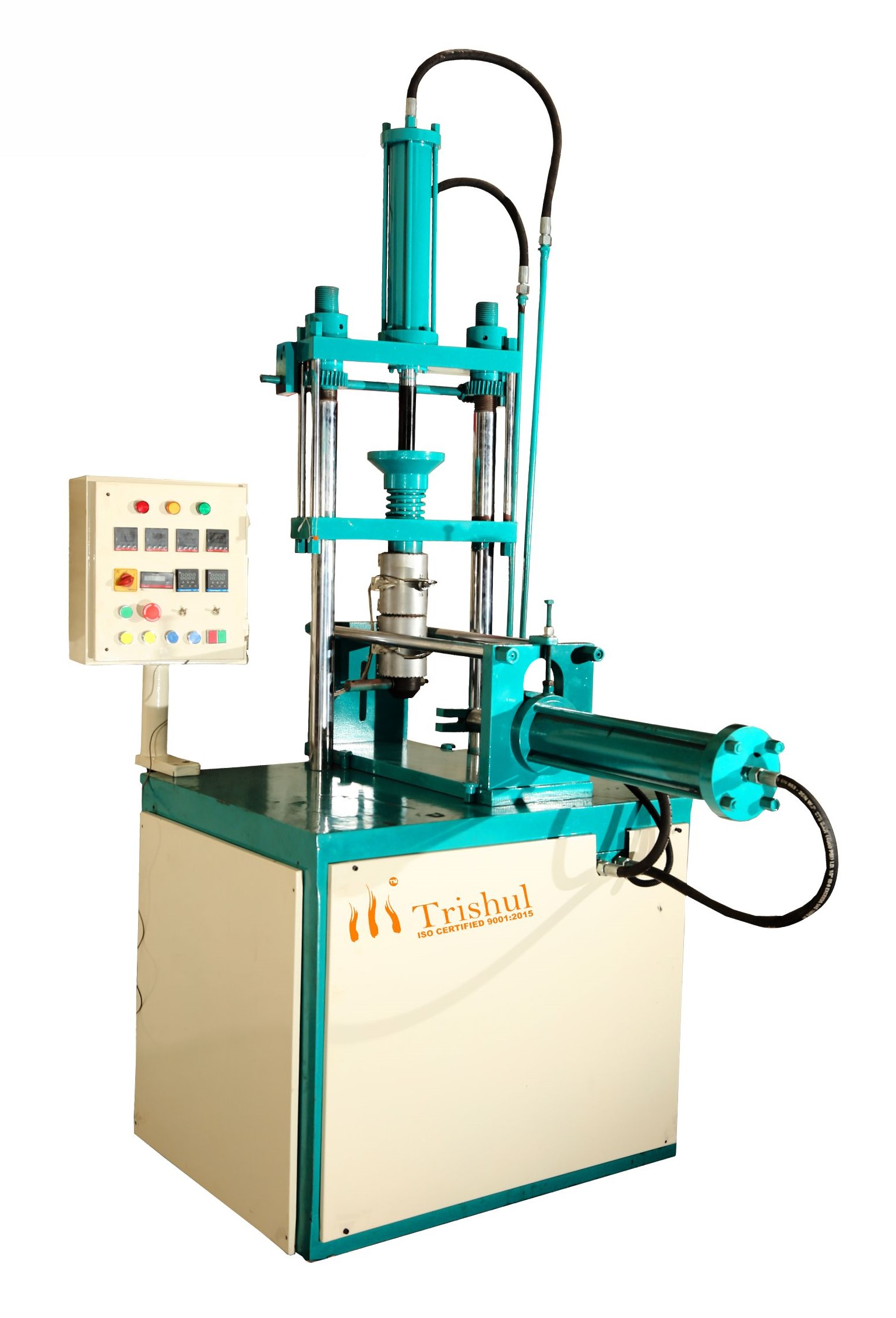 PLUNGER TYPE VERTICAL INJECTION MOULDING MACHINE